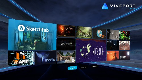HTC's Viveport store is launching an unlimited  VR app subscription