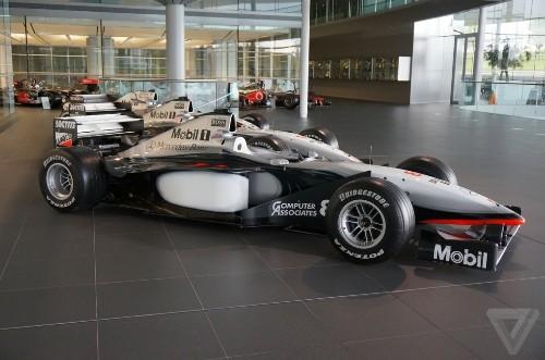 A walk through McLaren's state-of-the-art UK headquarters