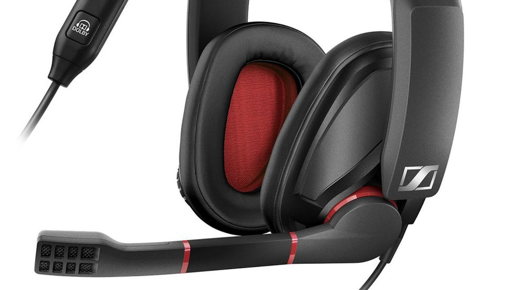 Sennheiser's new gaming headphones have a bold color palette