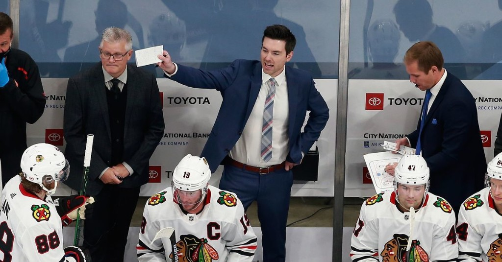 Blackhawks will 'most likely' give coach Jeremy Colliton contract extension before 2021 season