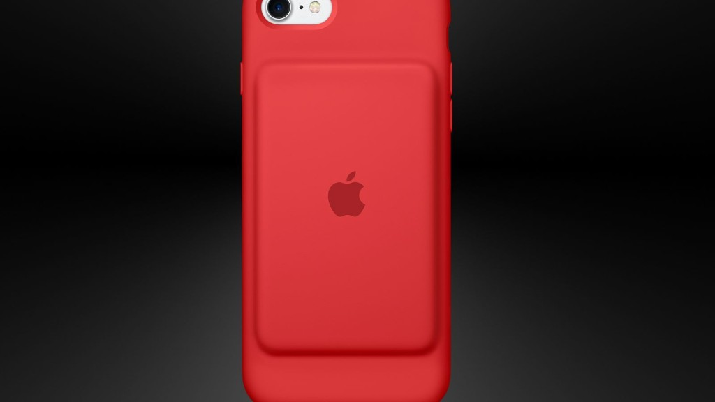 Apple's red iPhone battery case is for a good cause