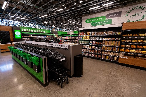 Amazon is expanding its cashierless Go model into a full-blown grocery store