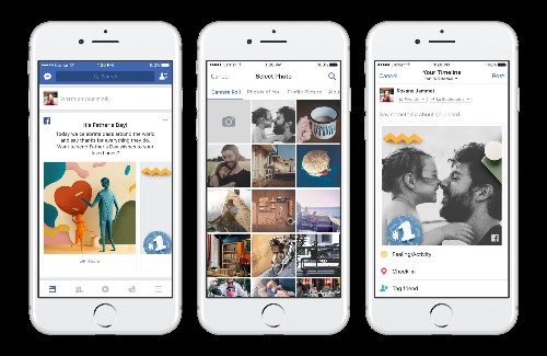 Facebook and Google have some special features to help you celebrate Father's Day