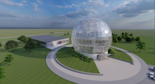 Foxconn's giant glass dome in Wisconsin is back, baby