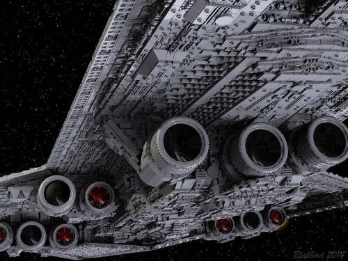 Someone on Kickstarter wants to build Darth Vader's Star Destroyer out of 90,000 Lego bricks