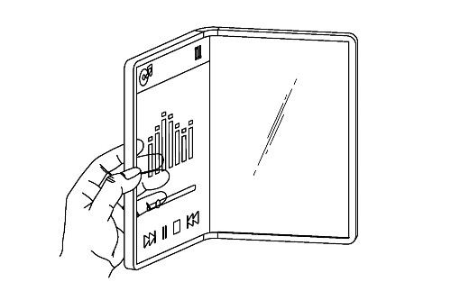 LG patents a transparent foldable phone