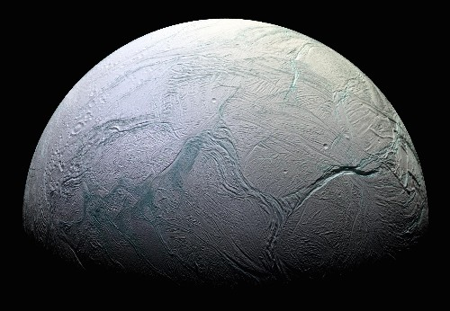 A NASA probe will fly through a giant icy plume on one of Saturn's moons tomorrow