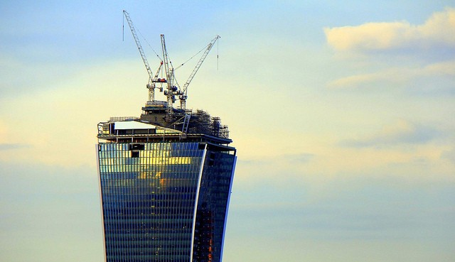 Reflections from London skyscraper are reportedly melting parked cars