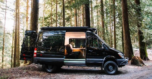 Converted camper is a light and airy take on van life