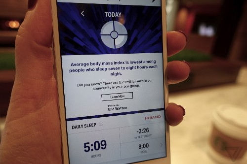 IBM's Watson will tell you when to sleep, exercise, and eat