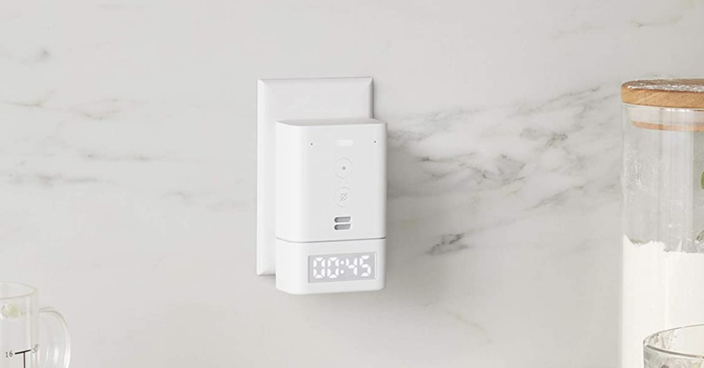 Amazon's Echo Flex is getting a new smart clock accessory