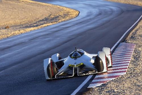 Chevrolet built a futuristic, spaceship-inspired concept car for 'Gran Turismo 6'