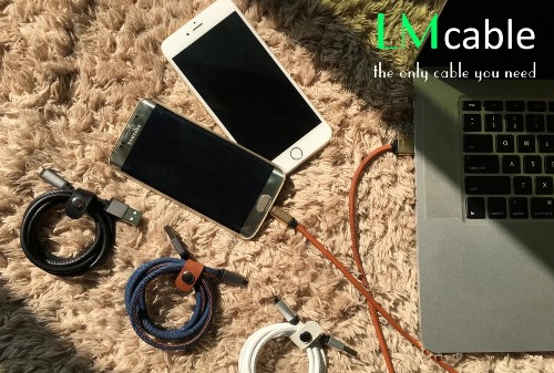 This Kickstarter aims to deliver a 2-in-1 Micro USB and Lightning cable