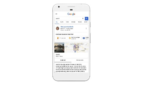 Google now makes it easier to keep track of your travel plans