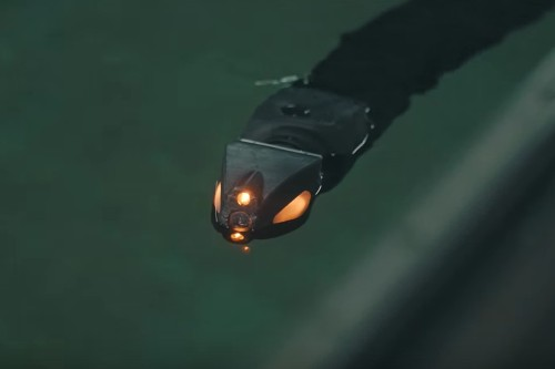 This terrifying eel-robot will perform maintenance on undersea equipment