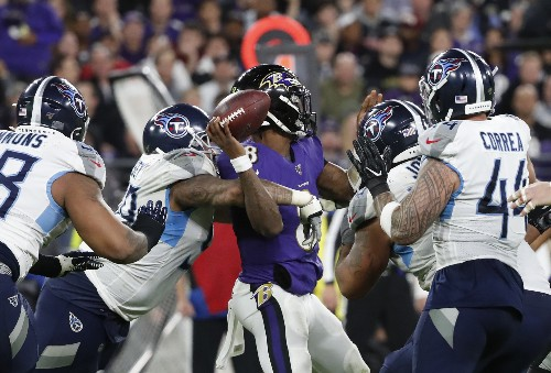How the Titans turned the Ravens' offense into the worst version of itself