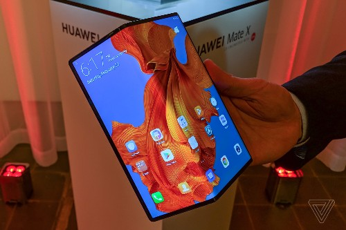 Huawei's Mate X is now on sale in China for $2,400