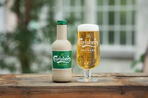 Carlsberg brewery working on paper beer bottles