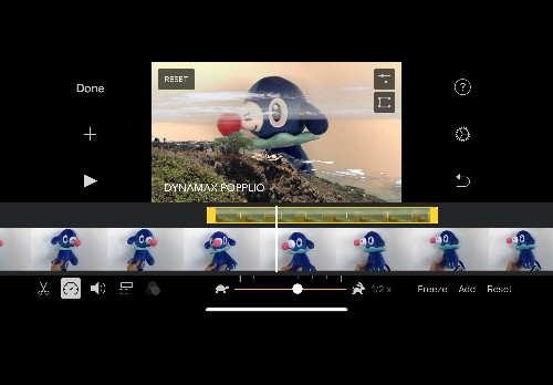 iMovie for iOS adds a green screen feature
