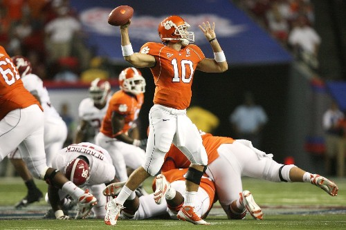 Begin at the End: Clemson vs. Alabama, 2008