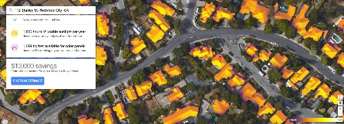 Google Maps can now tell you if it's worth installing solar panels on your roof