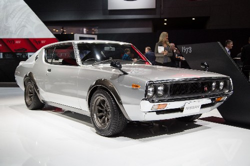 Nissan's vintage Skylines are the most beautiful cars at the New York Auto Show