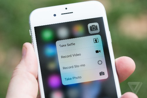 Here's what 3D Touch can do on the iPhone 6S