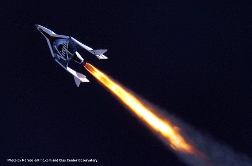 Virgin Galactic finishes third supersonic flight, reaching its highest altitude to date