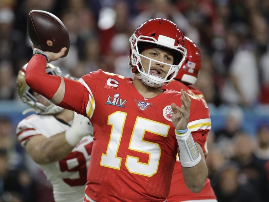 The tough job of spending Patrick Mahomes' money. Let's give it a shot