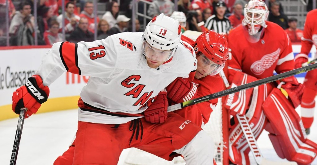 Carolina Hurricanes vs. Detroit Red Wings: Preview and Game Discussion