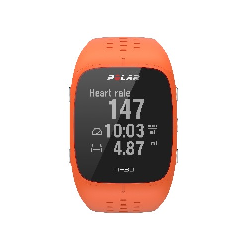 Polar's new M430 flagship running watch has wrist-based heart rate sensors