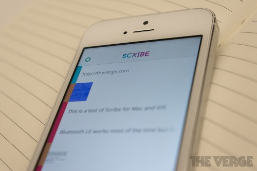 Scribe makes it easy to copy and paste from your Mac to your iPhone