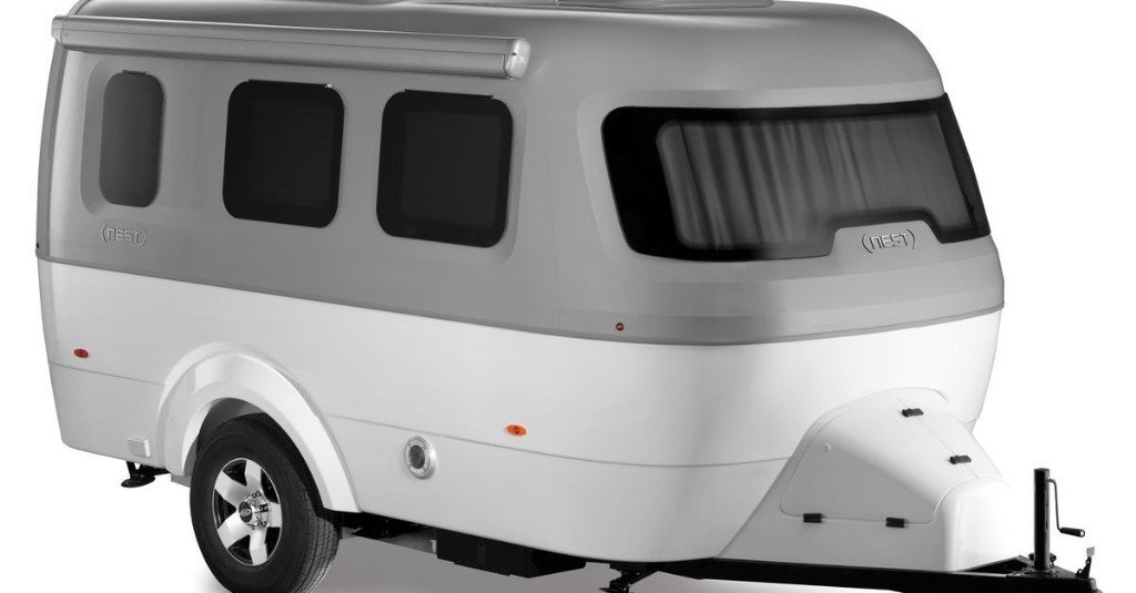 Airstream embraces fiberglass with $45K 'Nest' trailer