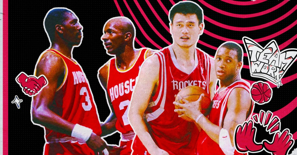 The top 5 Rockets duos of all-time