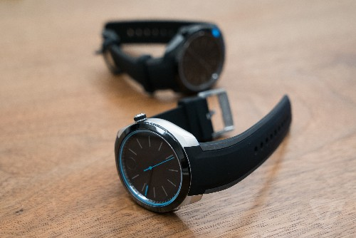 The Movado Bold Motion is a $695 analog smartwatch with no screen