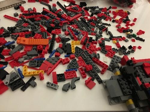I built a Ferrari F40 Lego set, and no, I will not apologize
