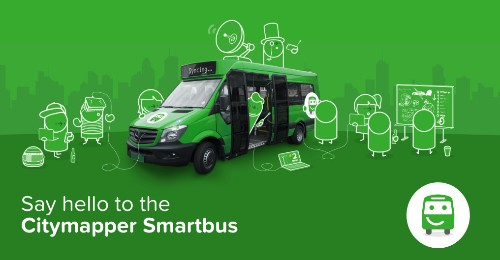 Citymapper is launching an experimental 'pop-up bus route' in central London