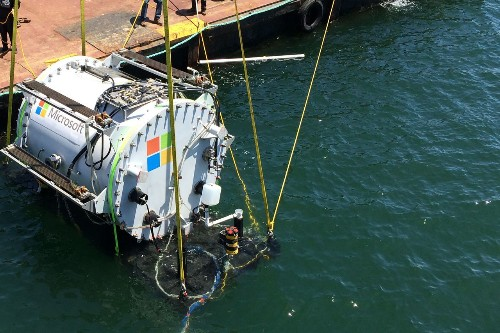 Microsoft is experimenting with underwater data centers