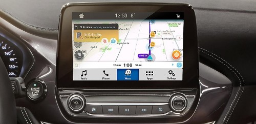 Ford connects Waze through its infotainment system