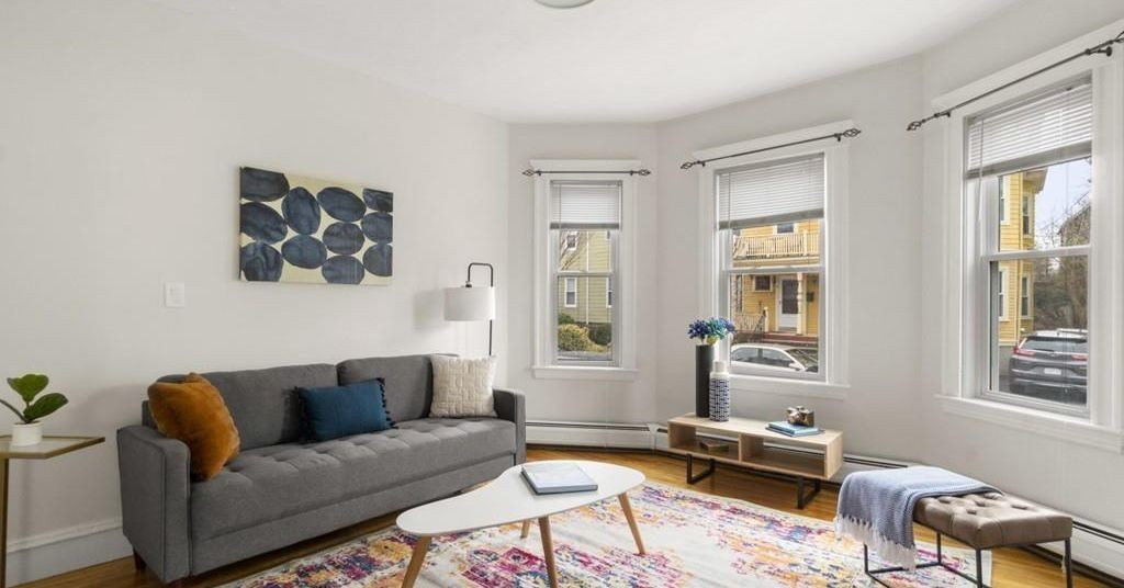 How much for a Somerville three-bedroom in Teele Square near Tufts?