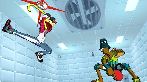 Lethal League Blaze turns handball into a stylish fighting game