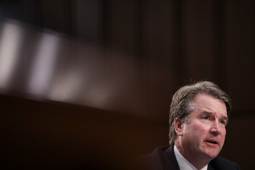 A woman alleges Brett Kavanaugh held her down and attempted to sexually assault her