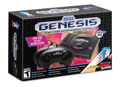 Sega will release its Genesis Mini retro console on September 19th