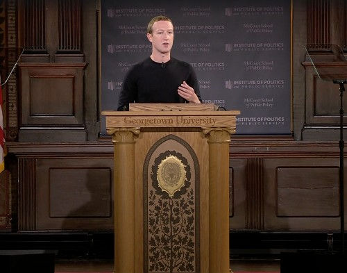 What Mark Zuckerberg's big talk about free speech left out