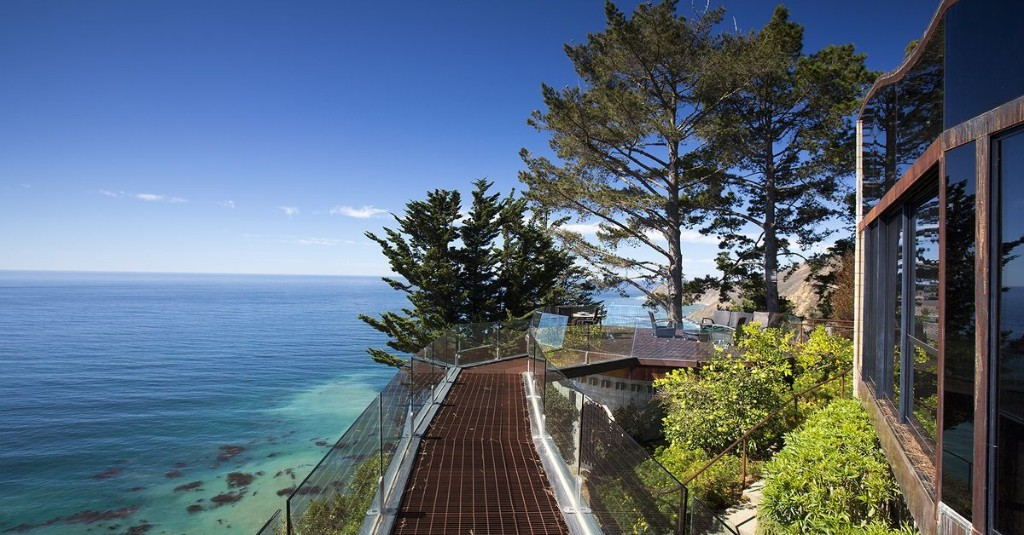 Big Sur oceanfront home with skybridge now asks $6.2M