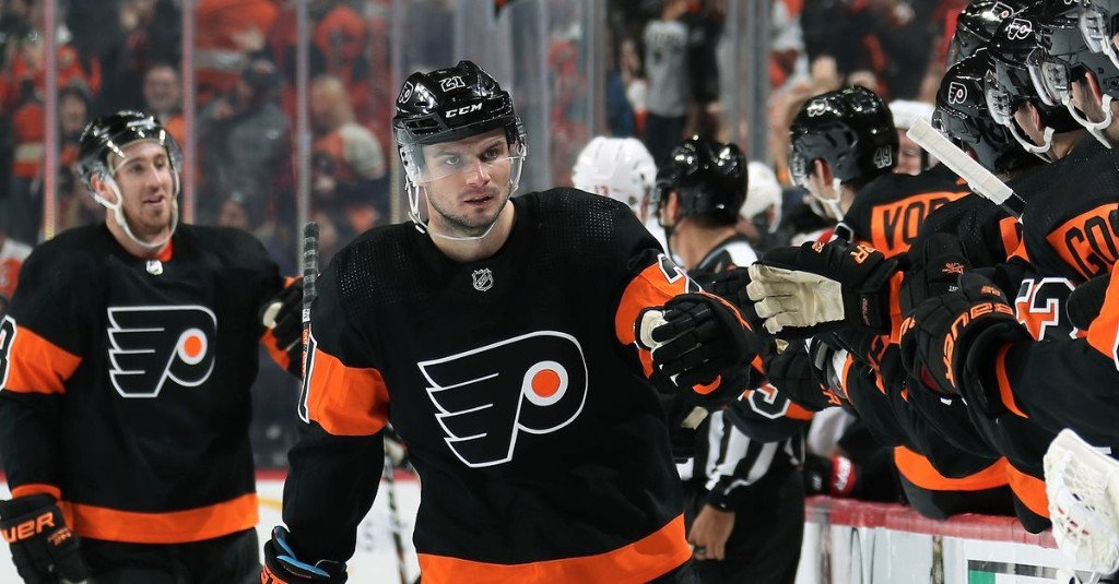 Scott Laughton's road to redemption culminates with Pelle Lindbergh Memorial Trophy as most-improved Flyer