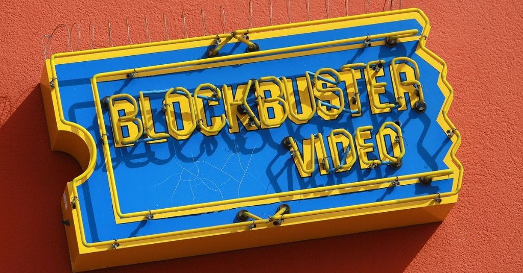 You're watching Netflix today because Blockbuster screwed up.