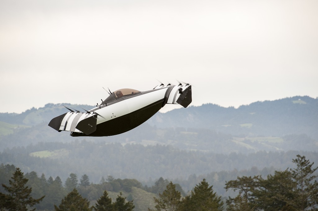 Larry Page is quietly amassing a 'flying car' empire
