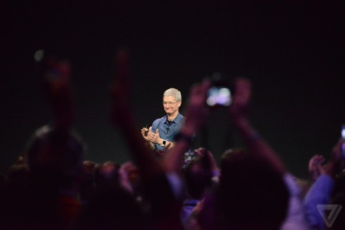 Apple's iPhone 6 and Apple Watch event in photos