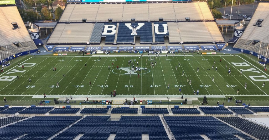 Sounds of silence: What it was like covering a BYU football game in a fan-less stadium